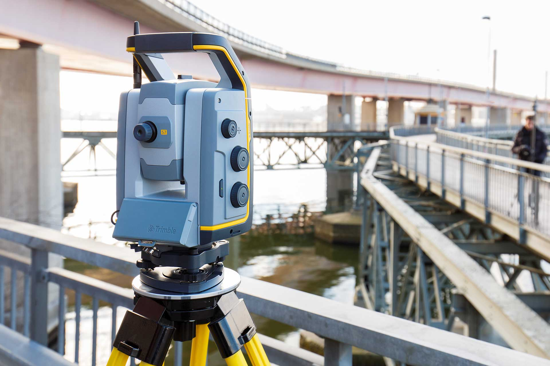 Trimble S7 Totalstation Slider